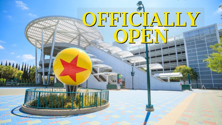 Pixar Pals Parking Structure Officially Opens to Guests at the Disneyland Resort