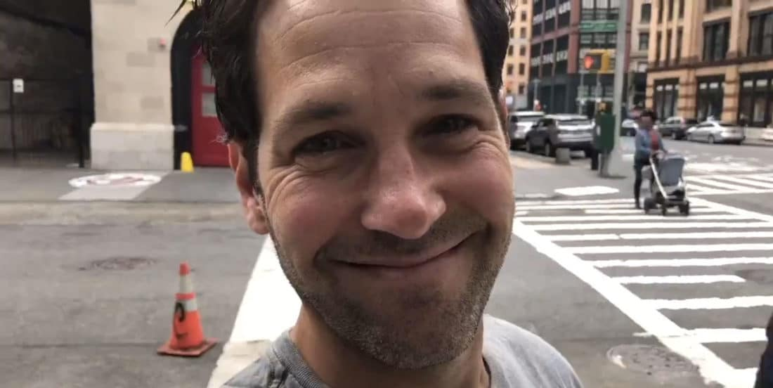 Paul Rudd Joins Ghostbusters Cast