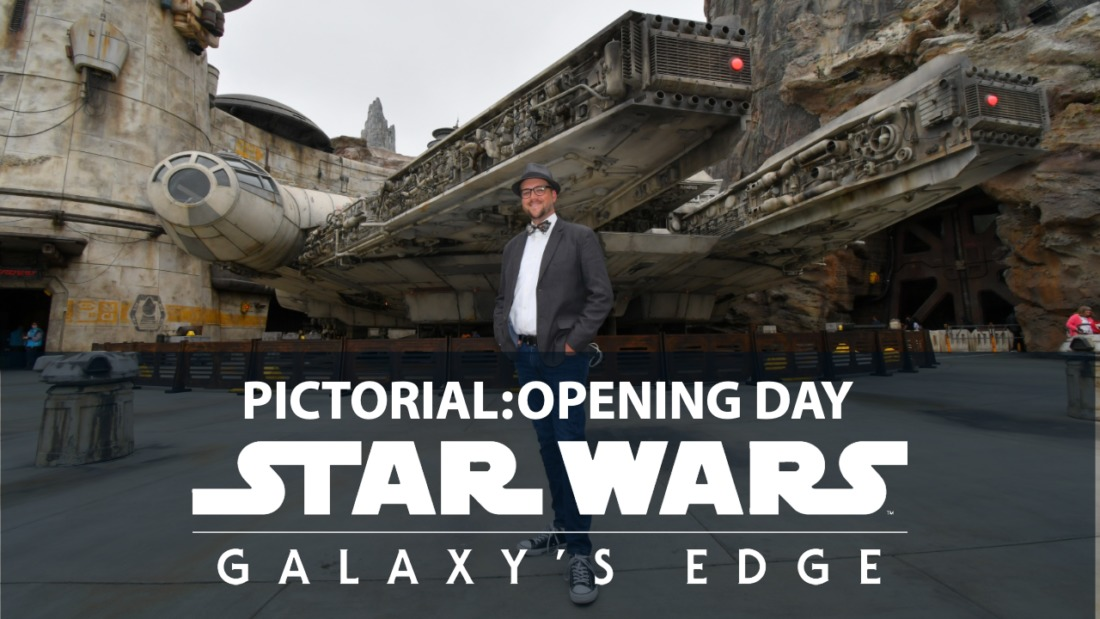 Pictorial: Opening Day For Star Wars: Galaxy's Edge at the Disneyland Resort