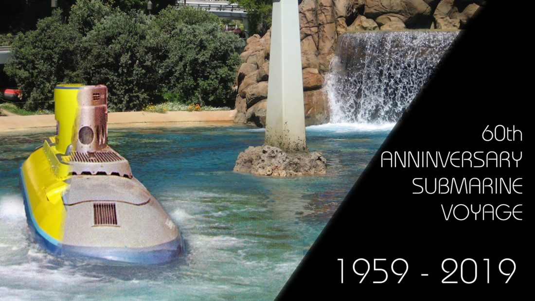 Submarine Voyage Then and Now – the 60th Anniversary of a Disneyland Original