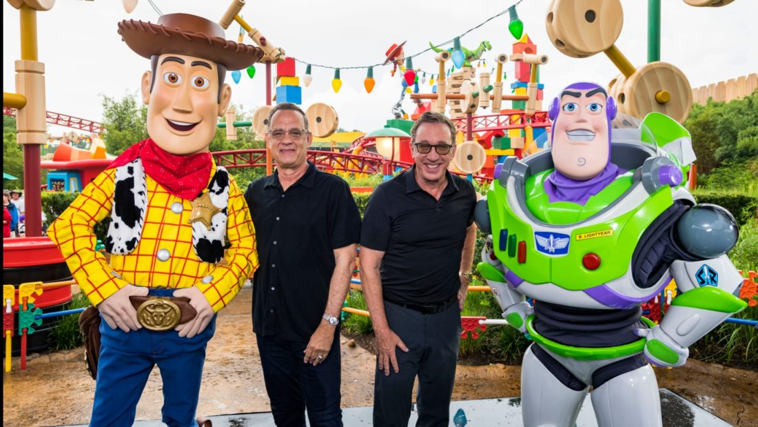 """Toy Story 4"" Voice Talent, Filmmakers and Walk-Around Characters Come Together at Toy Story Land in Disney's Hollywood Studios at Walt Disney World Resort"