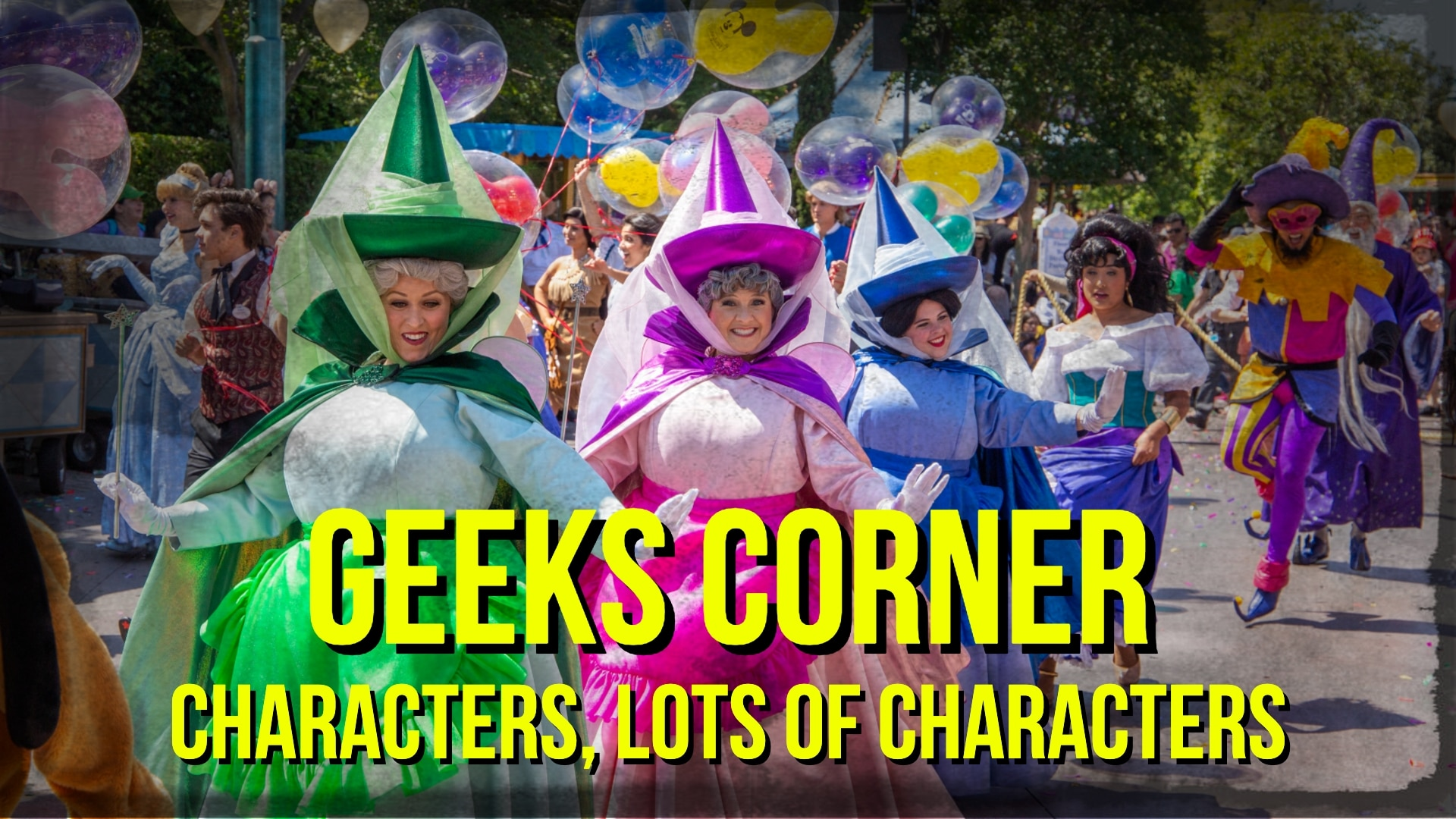 Characters, Lots of Characters – GEEKS CORNER – Episode – Episode 943 (#461) All changes saved