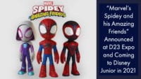 """""""Marvel's Spidey and his Amazing Friends"""" Announced at D23 Expo and Coming to Disney Junior in 2021"""
