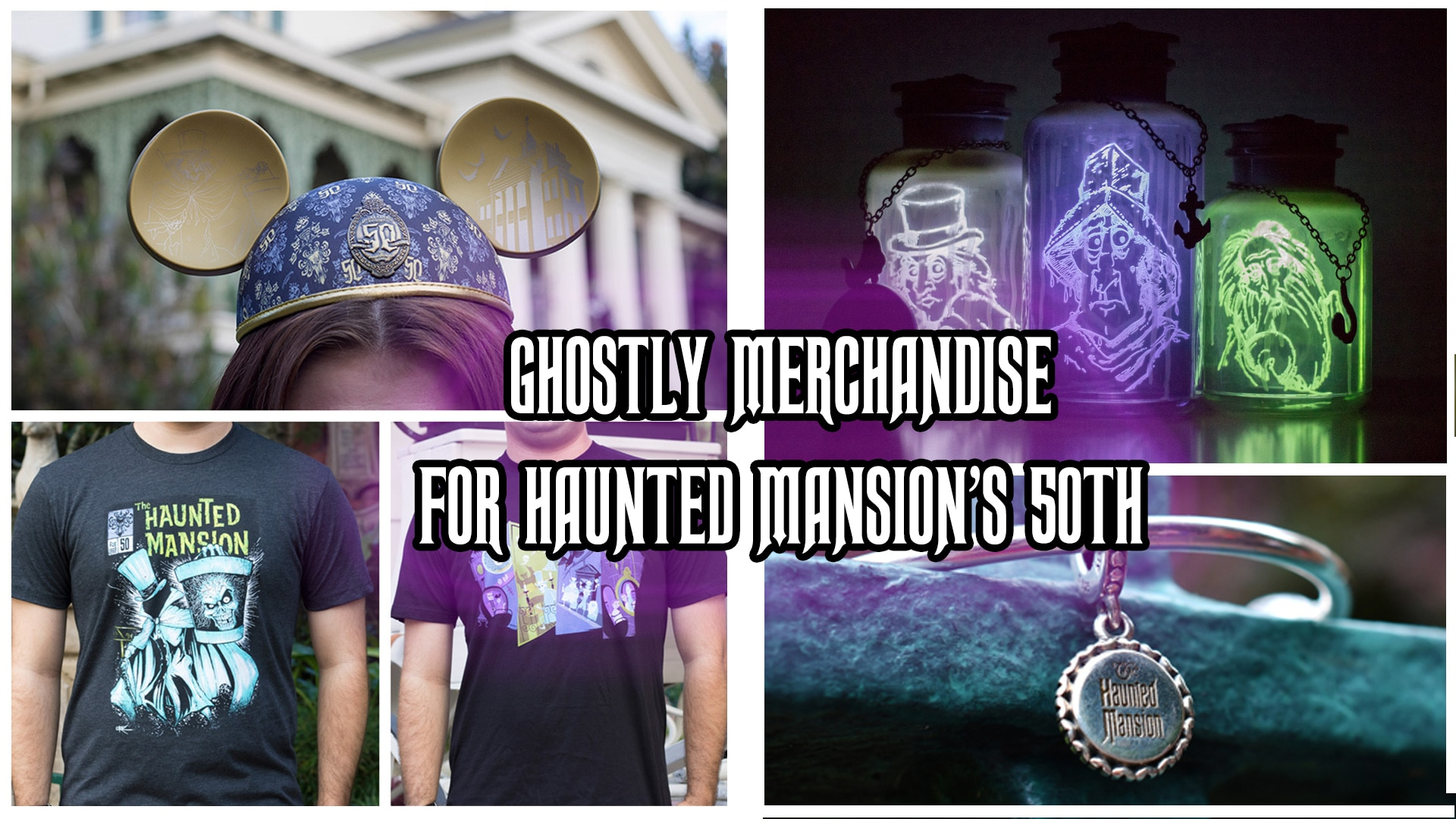 Details and Merchandise Materialize For Haunted Mansion's 50th Anniversary