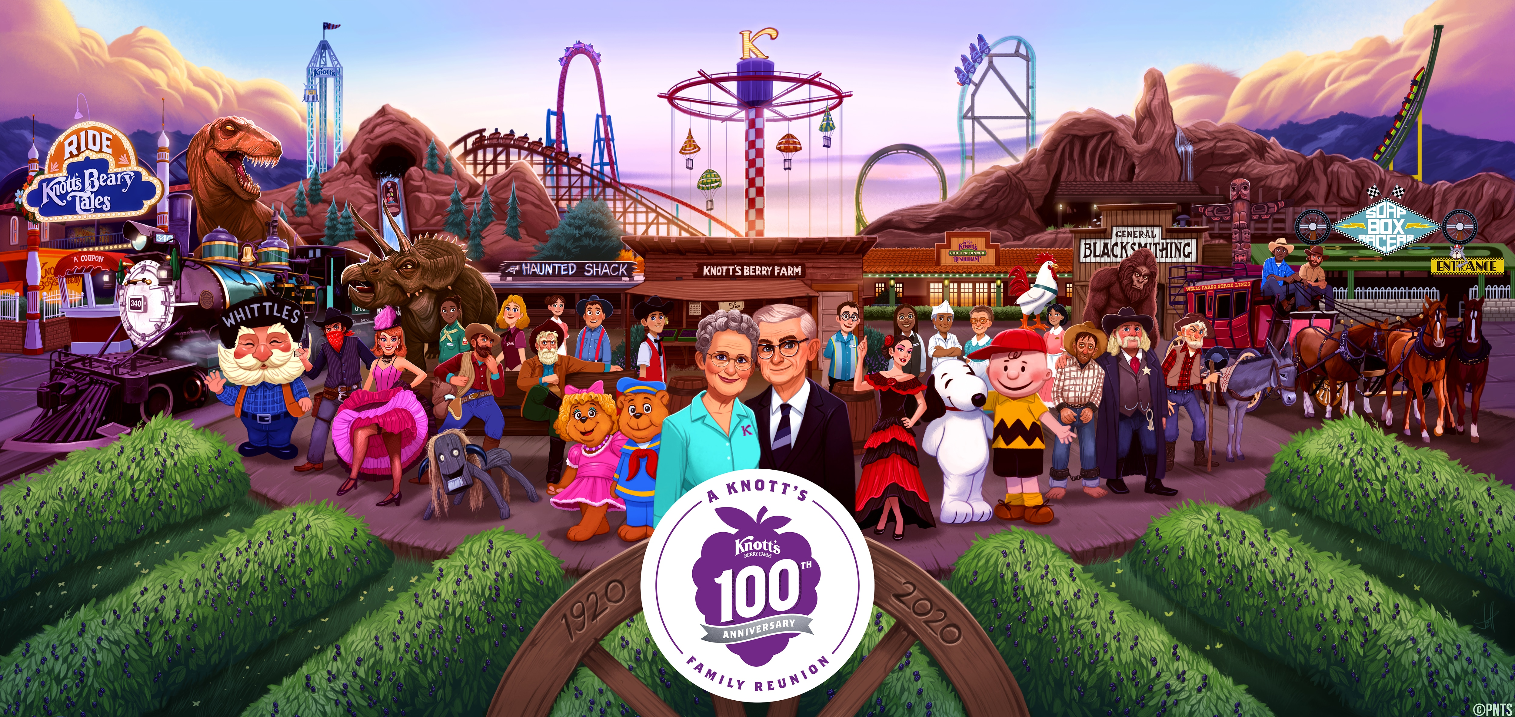 Knott's Berry Farm to Commemorate Their 100th Anniversary in the 2020 Rose Parade®