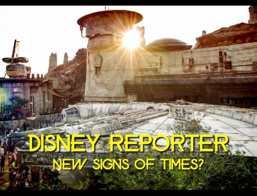 New Signs of the Times? – DISNEY Reporter