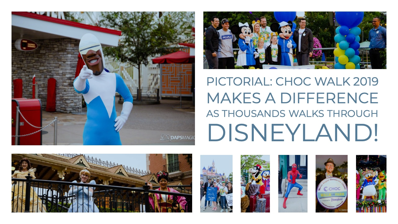 Pictorial: CHOC Walk 2019 Makes a Difference as Thousands Walks Through Disneyland!