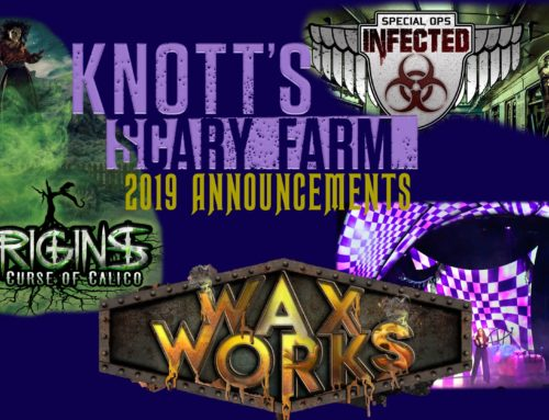 Knott's Scary Farm 2019 Stirs Up New and Departing Scares