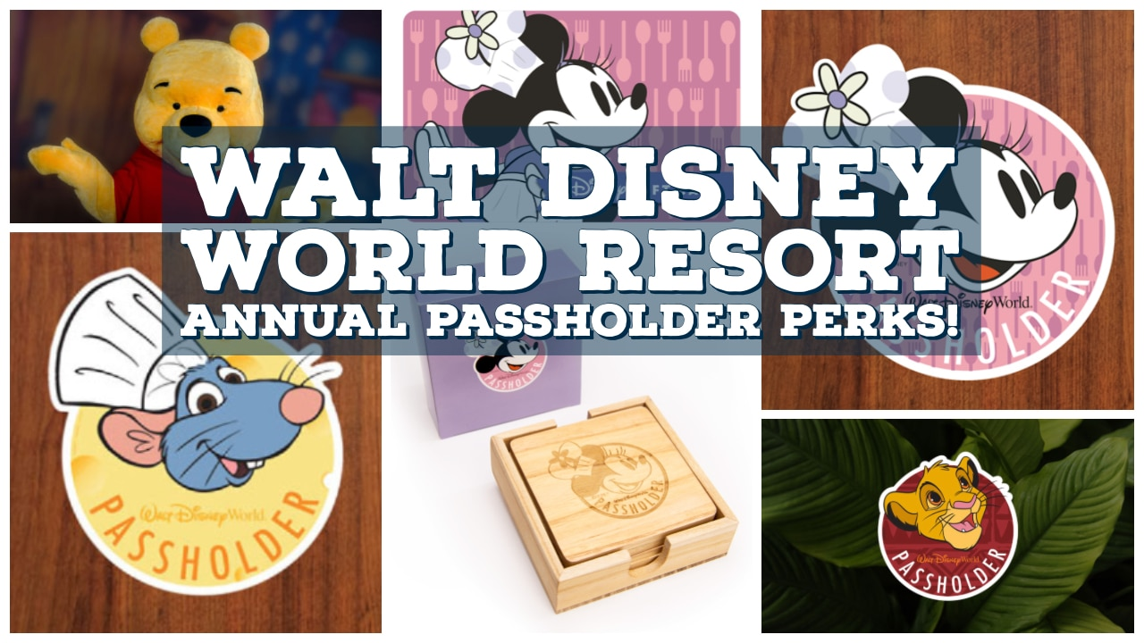 Walt Disney World Resort Annual Passholder Perks