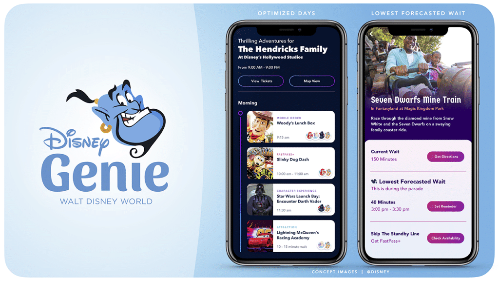 'Disney Genie' Coming to Vacation-Planning Guests of Walt Disney World in 2020