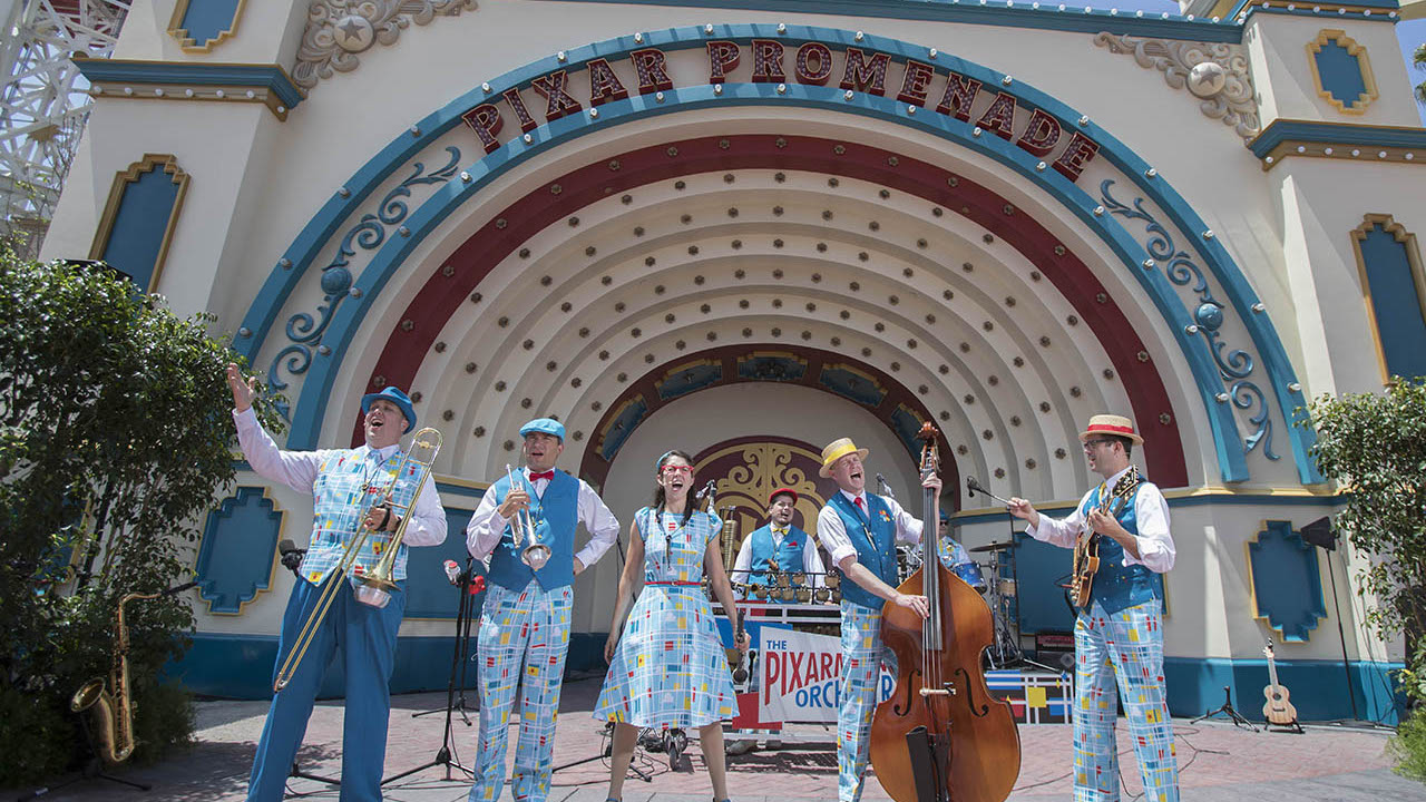 Pixarmonic Orchestra and Laughing Stock Co. Off Disneyland Entertainment Schedule After September 14