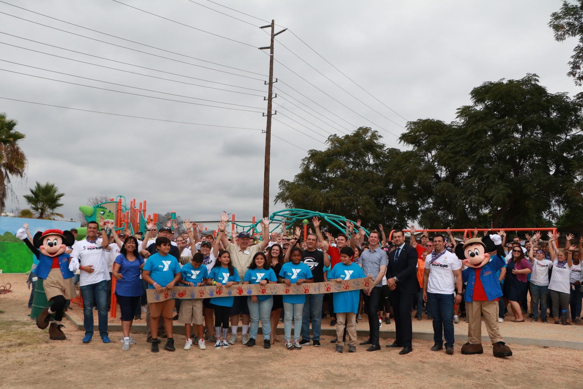 Disney VoluntEARS and Community Complete the 12th KaBOOM! Playground in Anaheim