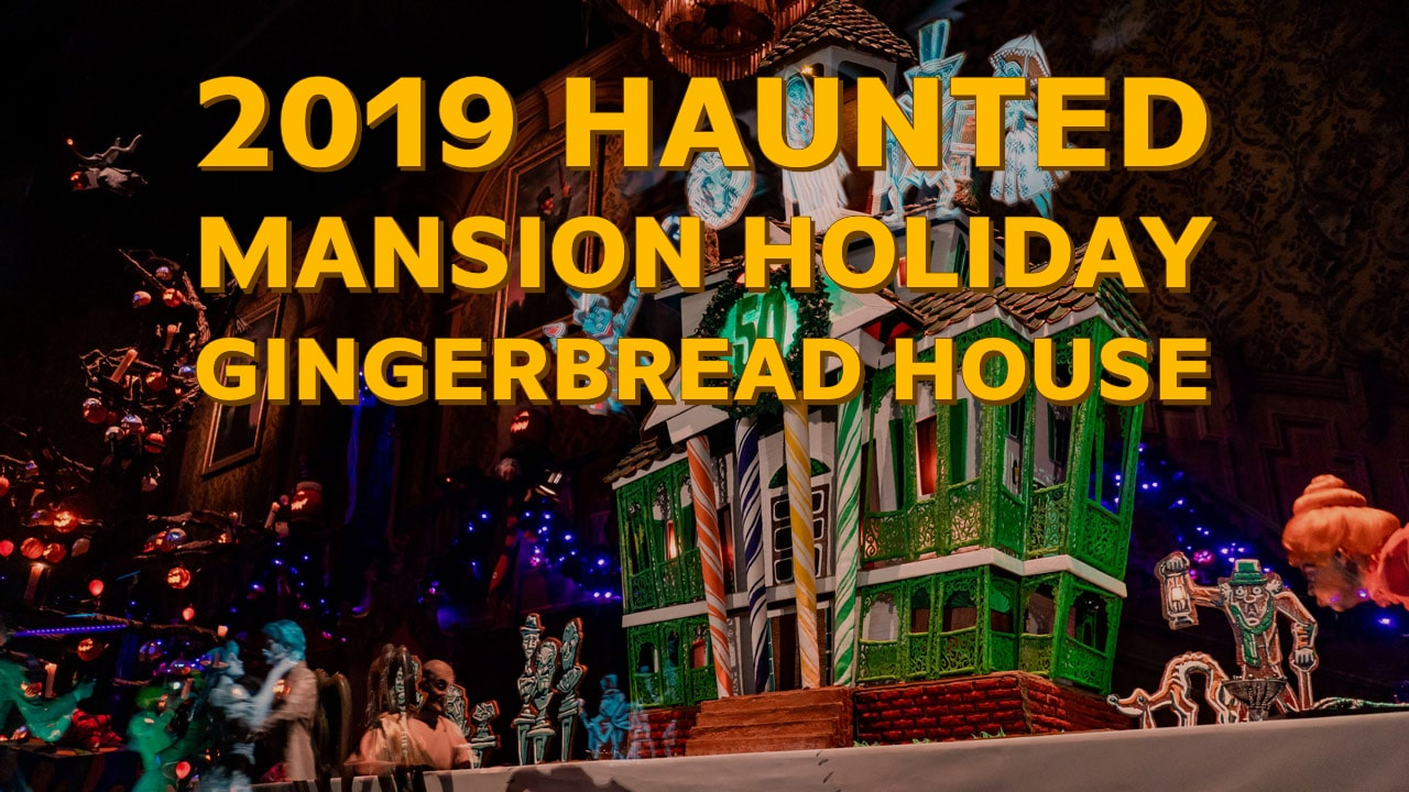 Haunted Mansion Holiday Celebrates 50 Years of Haunted Mansion with Gingerbread House