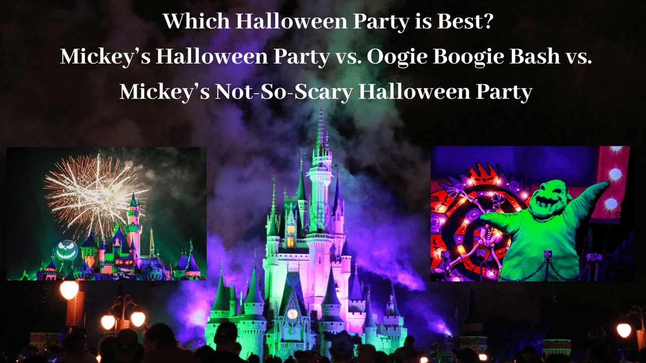 Disney Halloween Parties Pros and Cons – Which Disney Parks Halloween Party is the Best?