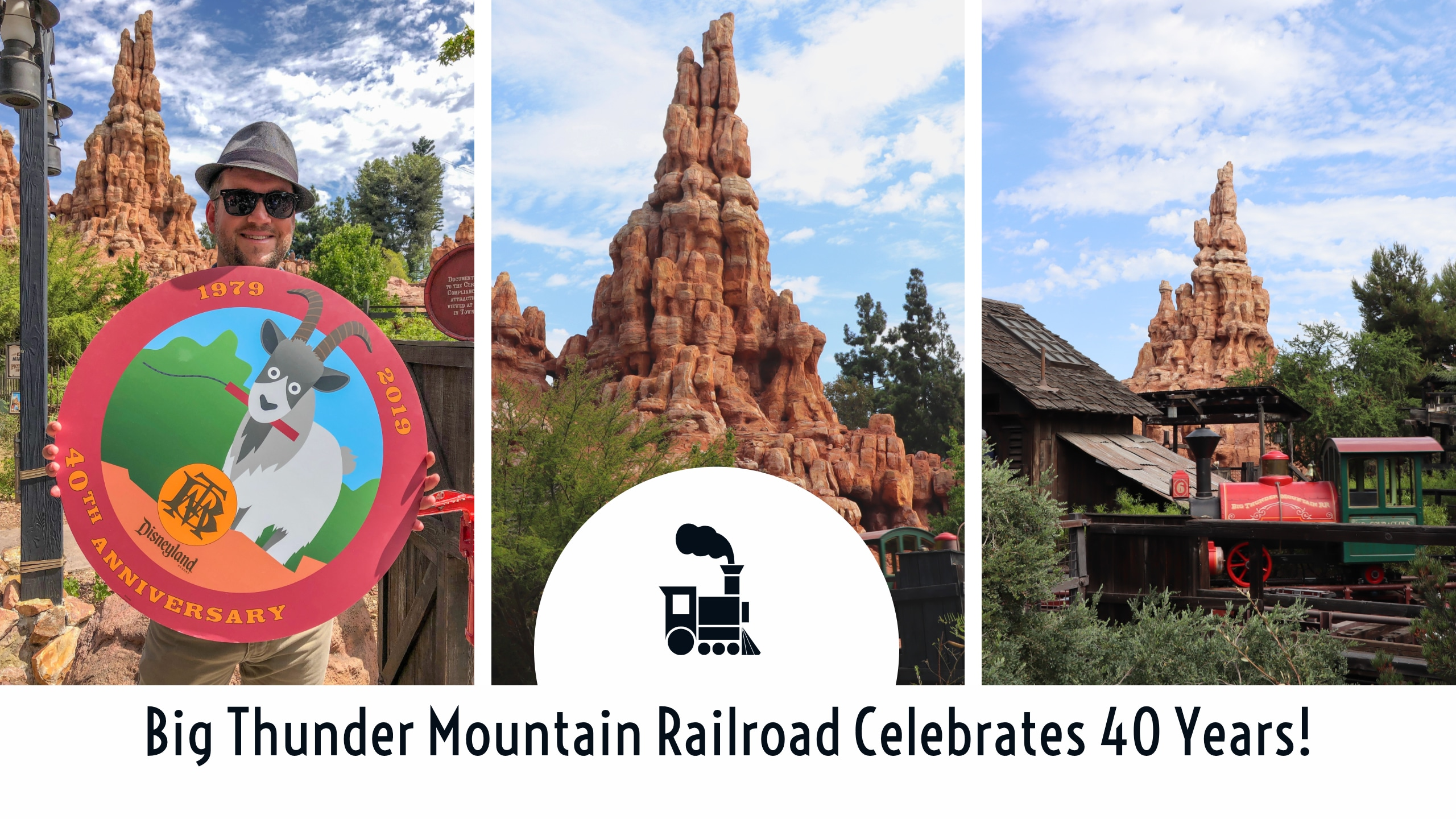Big Thunder Mountain Railroad Celebrates 40 Years!