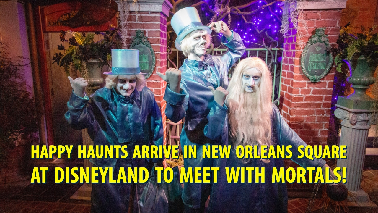 Happy Haunts Arrive in New Orleans Square