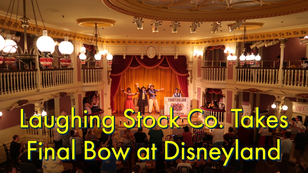 Laughing Stock Co. Takes Final Bow at Disneyland