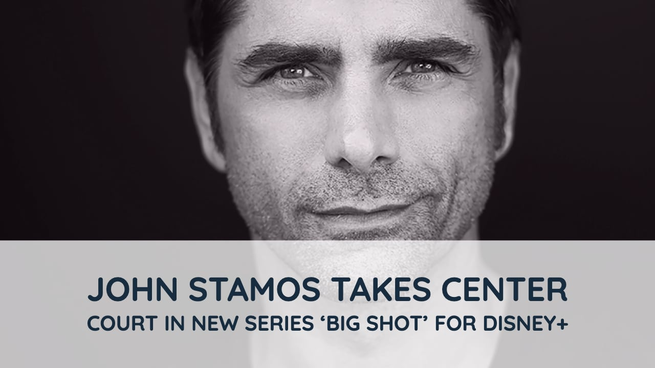 John Stamos Takes Center Court in New Series 'Big Shot' For Disney+