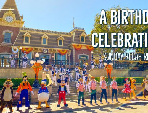 Sunday Recap Report – A Birthday Celebration