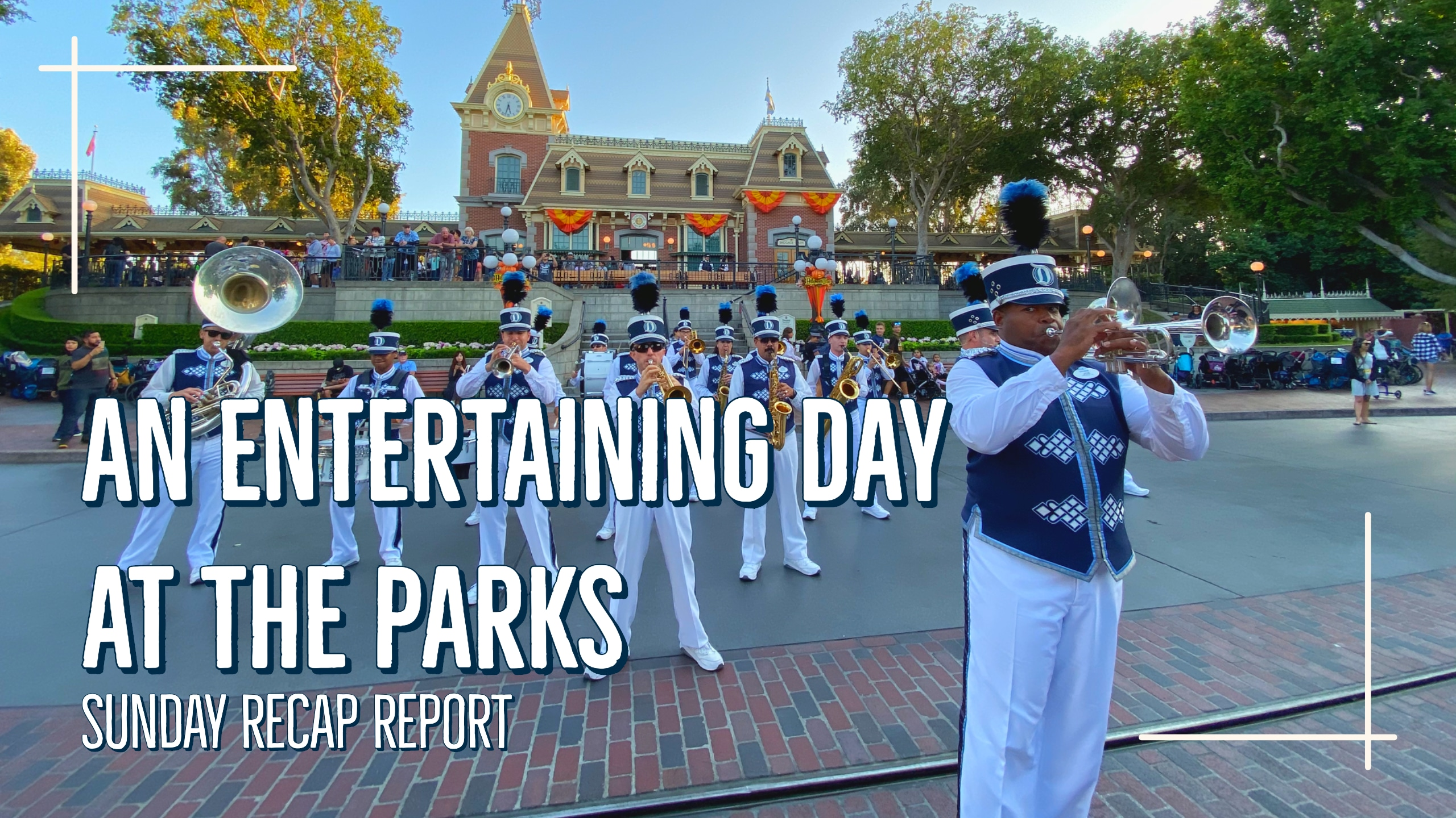 Sunday Recap Report – An Entertaining Day at the Parks