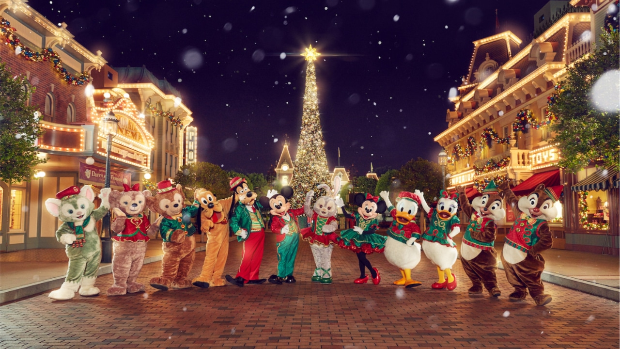 A Disney Christmas - Hong Kong Disneyland