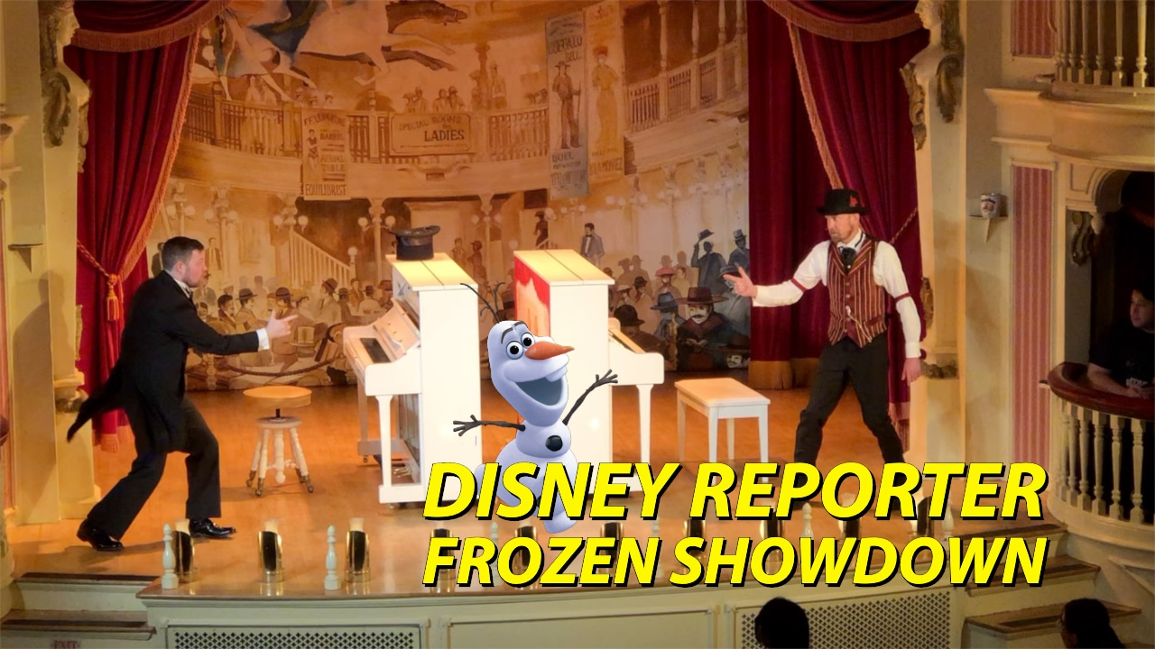 DISNEY Reporter - Frozen Showdown