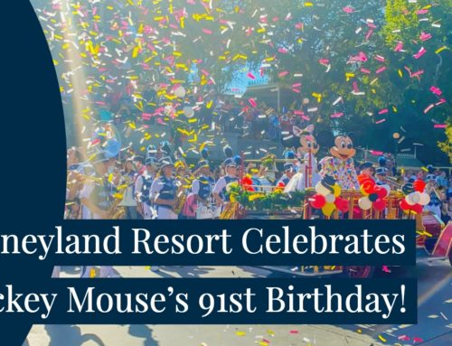 Disneyland Celebrate's Mickey Mouse's Birthday