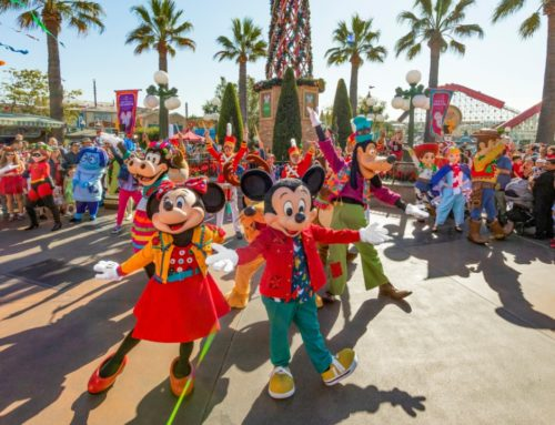 Mickey's Happy Holidays Brings Extra Holiday Cheer to Disney California Adventure!