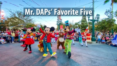 Mr. DAPs' Favorite Five- November 24, 2019