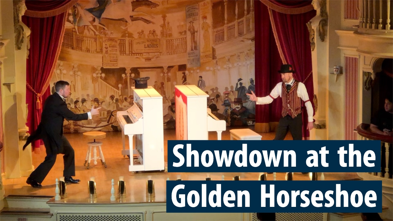 Showdown at the Golden Horseshoe