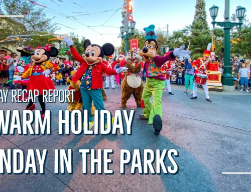 Sunday Recap Report – A Warm Holiday Sunday in the Parks