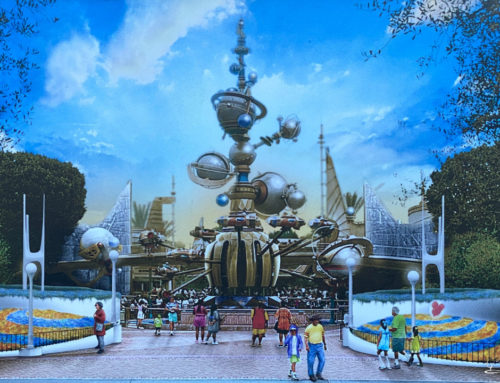 Disneyland Unveils New Tomorrowland Entrance Concept Art!