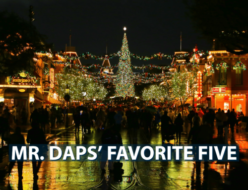 Mr. DAPs' Favorite Five- December 1, 2019