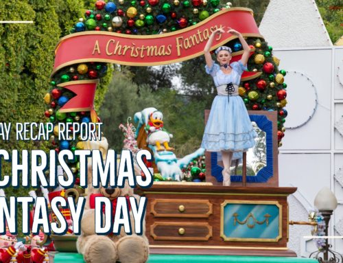 Sunday Recap Report – A Christmas Fantasy Day
