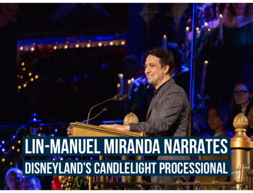 Lin-Manuel Miranda Tells the Christmas Story at Disneyland During 2019 Candlelight Processional
