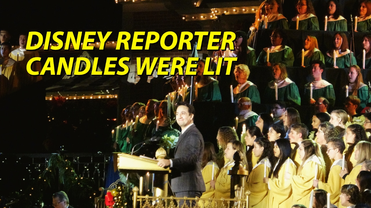 Candles Were Lit - DISNEY Reporter