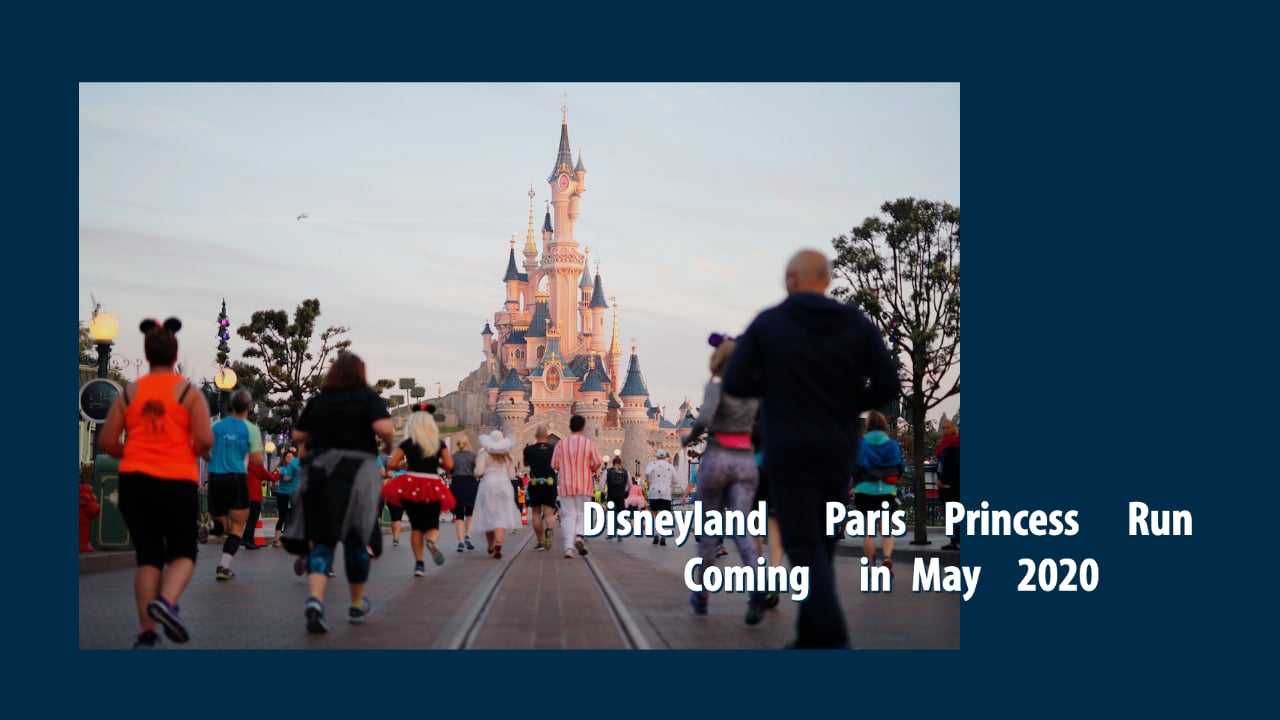 Disneyland Paris Princess Run Coming in May 2020