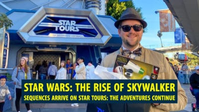 Star Wars: The Rise of Skywalker Sequences Arrive on Star Tours: The Adventures Continue