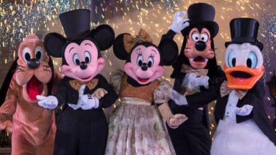 Ready, Set, Celebrate! Walt Disney World Resort Rings in 2020 with Dazzling New Year's Eve Festivities Across Its Theme Parks and Resort Hotels