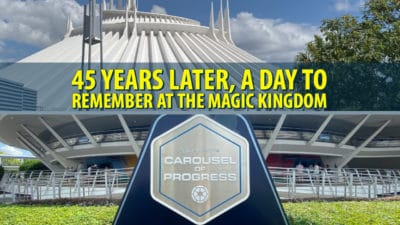 45 Years Later, a Day to Remember at the Magic Kingdom