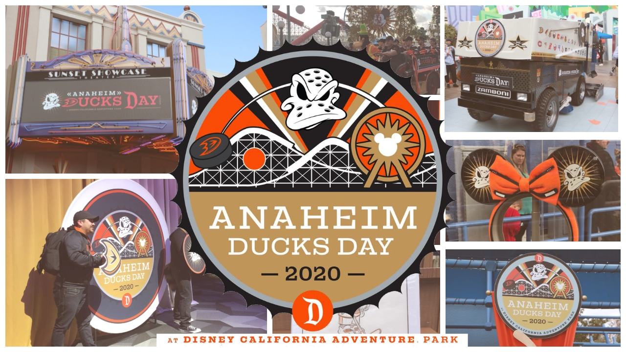 Anaheim Ducks Descend on Disney California Adventure for Anaheim Ducks Day!