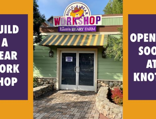 More Details on the Upcoming Opening of Build-A-Bear Workshop at Knott's Berry Farm