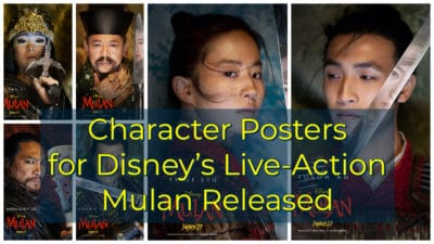 Character Posters for Disney's Live-Action Mulan Released