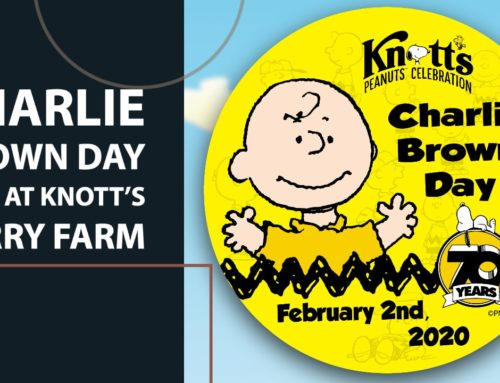 Celebrate a Beloved Peanuts Character on Charlie Brown Day 2020 at Knott's Berry Farm