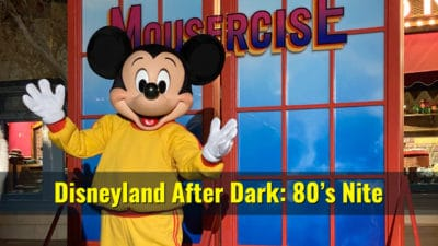 Pictorial: Disneyland After Dark: 80s Nite is a Radical Return to the 80s