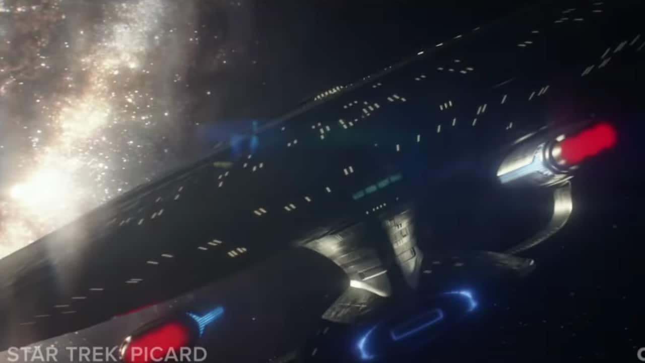 Enterprise-D - Star Trek: Picard