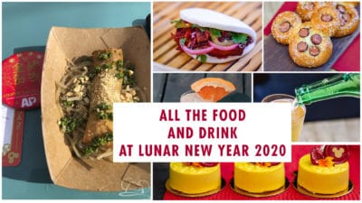Guide to Food and Drink at Lunar New Year in Disney California Adventure