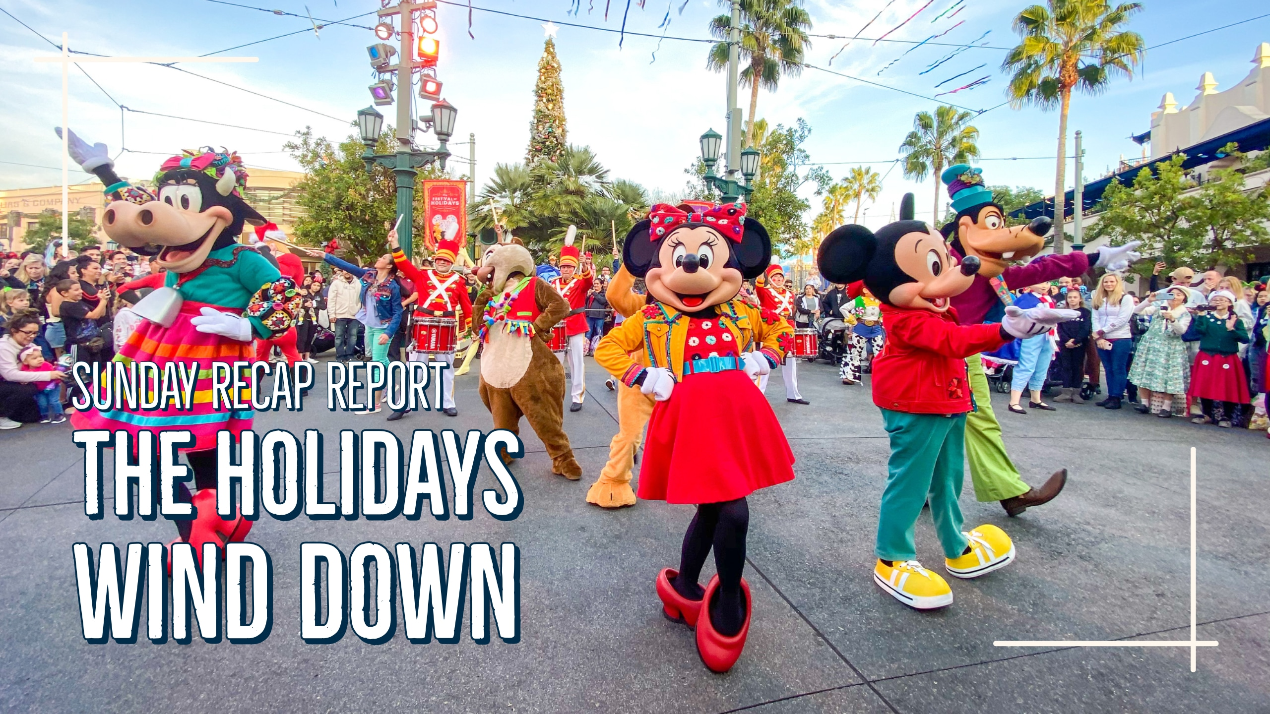 Sunday Recap Report – The Holidays Wind Down
