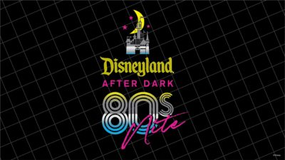 Details Released for Disneyland After Dark: 80s Nite!