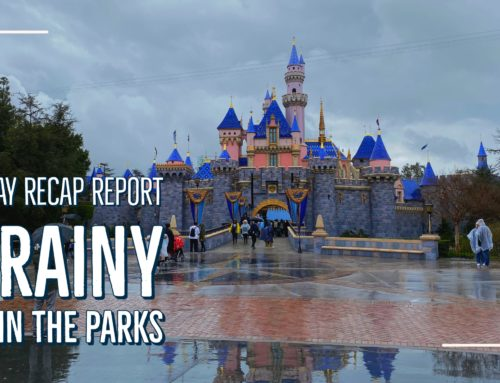 Sunday Recap Report – A Rainy Day in the Parks